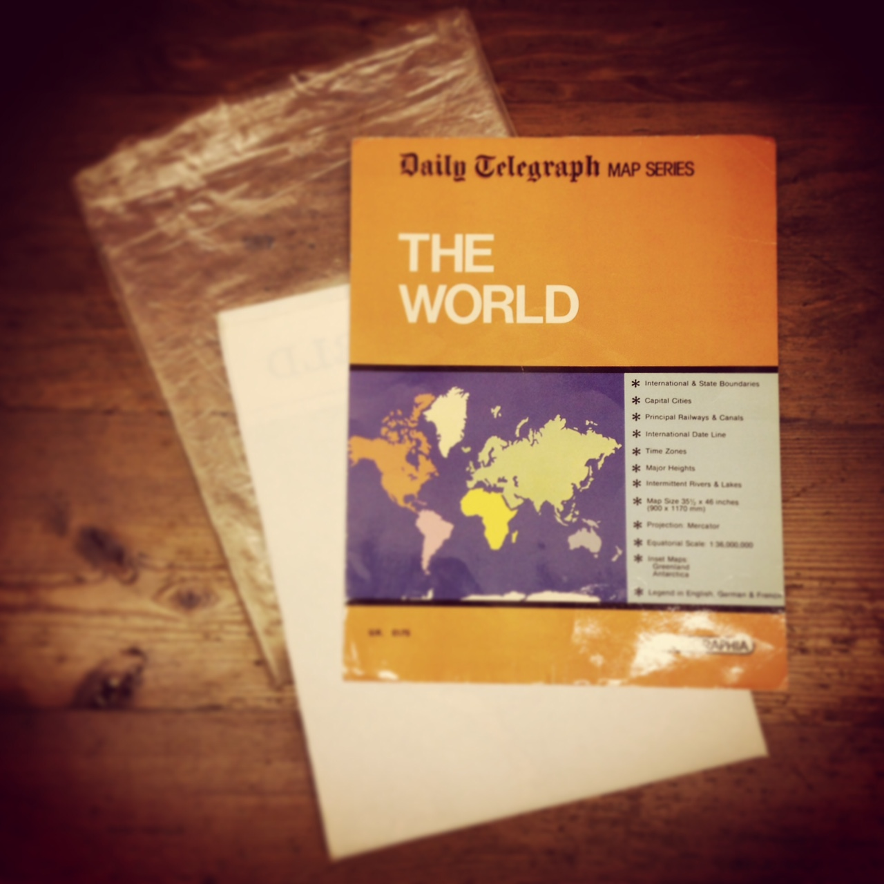 The wonderful world of scratch maps uk outdoor travel blog sixties daily telegraph world map gumiabroncs Choice Image