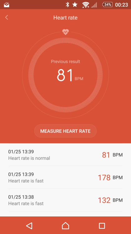 Headscratch-inducing heart rate monitor